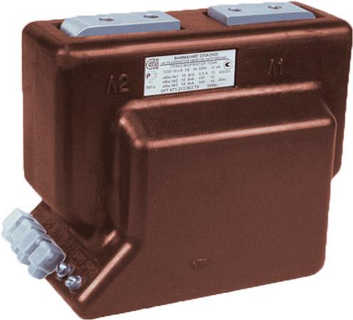 Опорный трансформатор тока  ТОЛ-10-I-2 0,5/10P-400/5